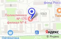 Схема проезда до компании МАГАЗИН МЕБЕЛЬ КО. в Москве