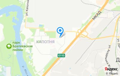 Местоположение на карте пункта техосмотра по адресу г Москва, ул Капотня, д 32