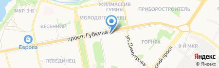 Банкомат БИНБАНК кредитные карты на карте Старого Оскола