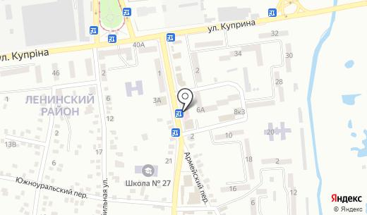 Кроха. Схема проезда в Донецке