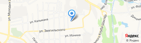 Отделение связи №27 на карте Донецка