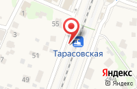 Схема проезда до компании Тарасовская в Черкизово