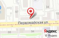 Схема проезда до компании Пентагон в Москве