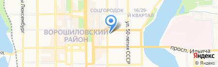 ReklamaVlada на карте Донецка