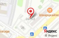Схема проезда до компании С Энд П Плюс в Москве