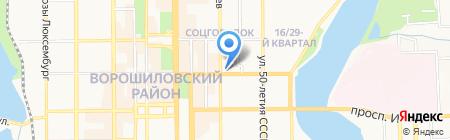 Стройснаб на карте Донецка