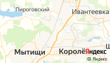 Отели города Челюскинский на карте