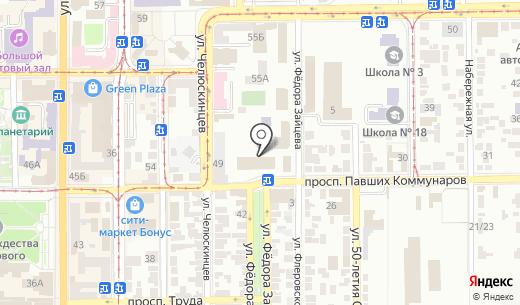 Керамис. Схема проезда в Донецке