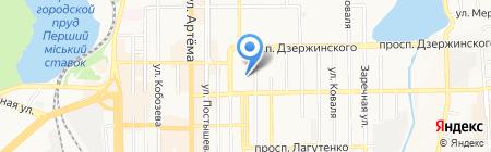 Детский сад №144 на карте Донецка