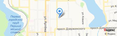 Авторское ателье Антонины Лившиц на карте Донецка