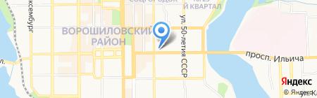 SKY LINE на карте Донецка