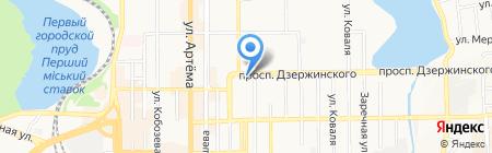 Гарант-Авто на карте Донецка