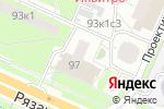 Схема проезда до компании Kodak express в Москве