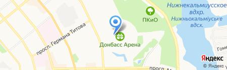Fan Cafe на карте Донецка
