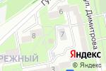 Схема проезда до компании Набережный в Старом Осколе