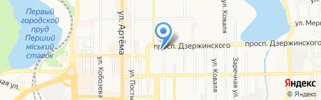 Информационно-ипотечный центр на карте Донецка