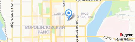 Creative Studio Анны Бойцовой на карте Донецка