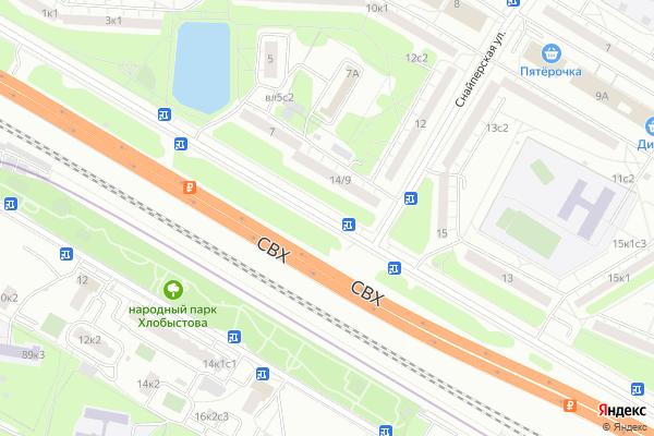 Ремонт телевизоров Улица Красный Казанец на яндекс карте