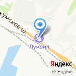 Лукойл-Югнефтепродукт на карте Новороссийска