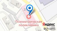 Компания Психиатрическая поликлиника, Центральная районная больница на карте