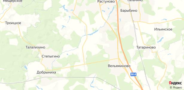 Голубино на карте