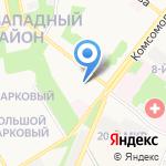 Пашков В.И. на карте Старого Оскола