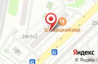Схема проезда до компании Ад Фонтас в Москве