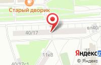 Схема проезда до компании Галлерия в Москве