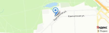 100Штамп на карте Москвы