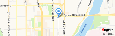 Электроналадка на карте Донецка