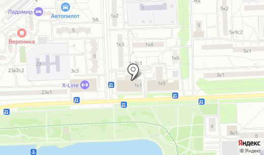 Избёнка. Схема проезда в Москве