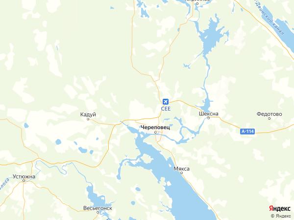 деревня Климово на карте