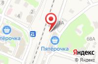 Схема проезда до компании МТС в Черкизово