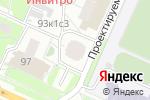 Схема проезда до компании Копицентр на Рязанском в Москве