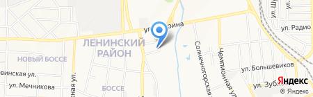 Евронет на карте Донецка