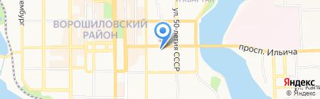 Страховые гарантии на карте Донецка