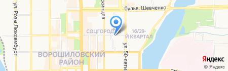 ВАВИЛОН-ДОН на карте Донецка