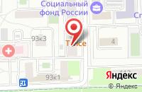 Схема проезда до компании Информационно-Коммерческая Фирма  в Москве