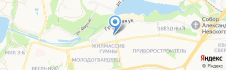 ОЖКХ Набережный МУП на карте Старого Оскола