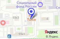 Схема проезда до компании ТФ БОРЕЙ ЛТ в Москве