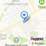 Белгородский региональный автотехцентр на карте Старого Оскола