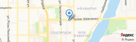 Мир Бумаги К на карте Донецка