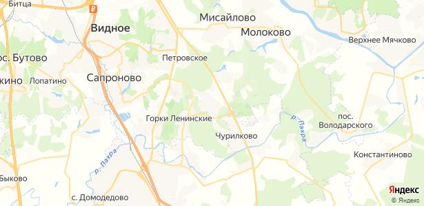Мещерино на карте