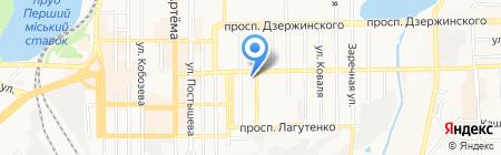 Иллиос ЧП на карте Донецка