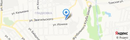 Детский сад №401 на карте Донецка