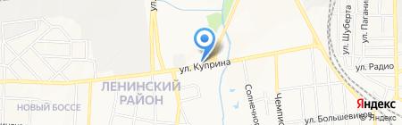 Автокомплекс на карте Донецка