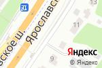 Схема проезда до компании Деталь-Авто в Октябрьском