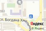 Схема проезда до компании Обжорка в Донецке