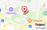 Схема проезда до компании Ситас в Москве