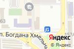 Схема проезда до компании Каре в Донецке